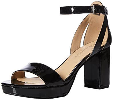 7896dd306ff CL by Chinese Laundry Women s GON Heeled Sandal Black Patent 6.5 ...