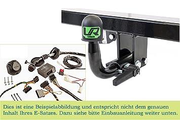 Für Opel Meriva B ab10 VERTIKAL Anhängekupplung ABNEHMBAR inkl 13p E-Satz
