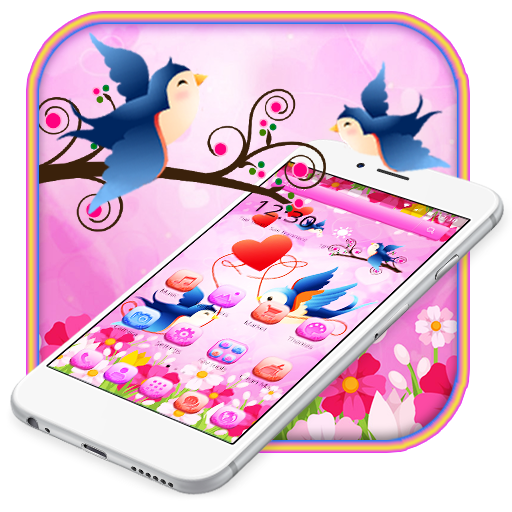 Amazon Com Cute Love Birds Theme And Live Wallpaper Appstore For Android