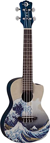 Luna Concert Ukulele With Gig Bag