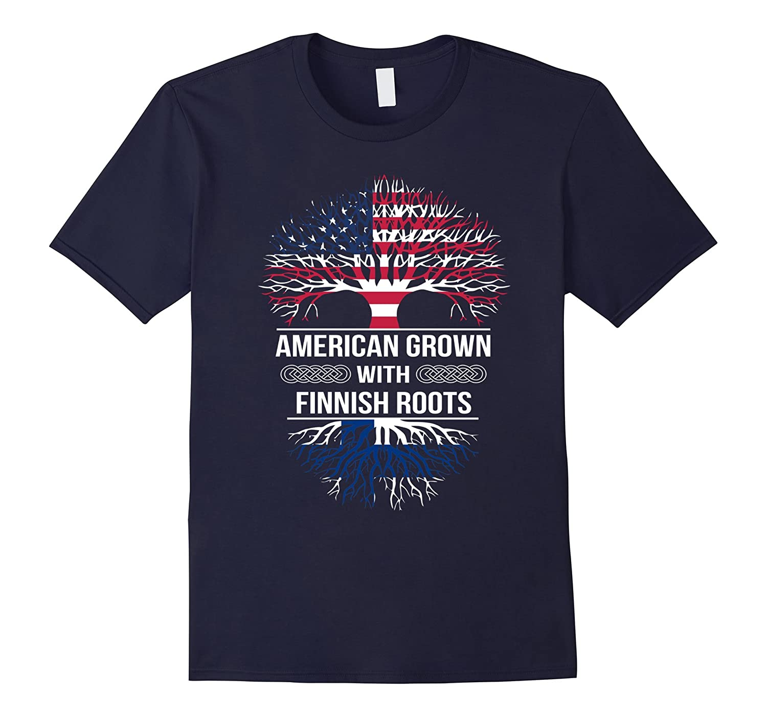 American Grown with Finnish Roots tshirt-Yolotee