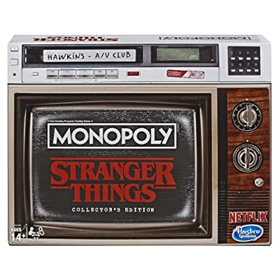 Monopoly Game Stranger Things Collector's Edition Board Game for Ages 14 & Up: Toys & Games
