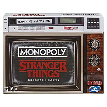 Amazon.com: Monopoly Game Stranger Things Collectors ...