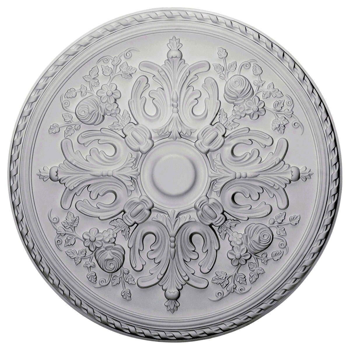 Ekena Millwork CM32BR Ceiling Medalion, Factory Primed White