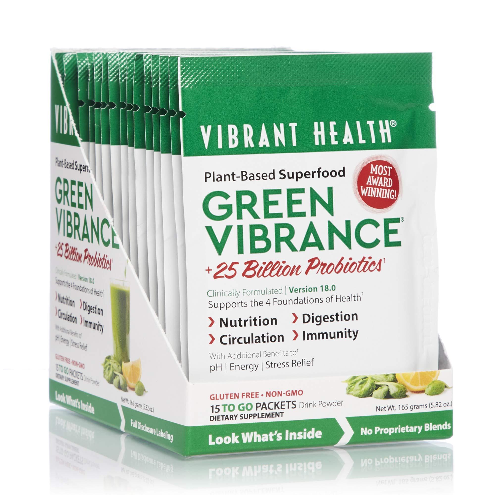 Amazon Com Vibrant Health Green Vibrance Plant Based