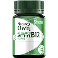 Nature's Own Activated Methyl B12-60 Mini Tablets