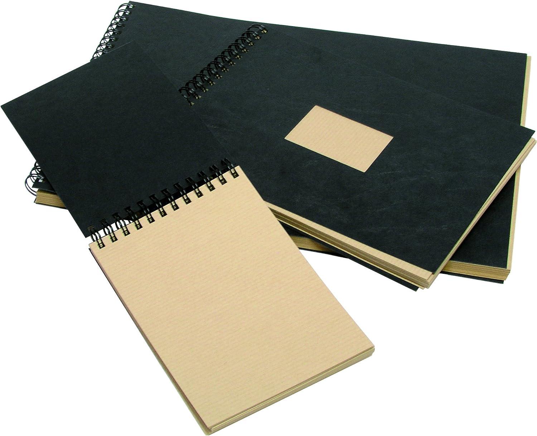 Clairefontaine 975001C Ries Kraftpapier kartonbraun ideal f/ür Trockentechnicken, 120 g DIN A4, 21 x 29,7 cm, 25 Blatt