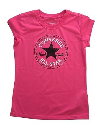 06cd5bd59b64 Converse Chuck Taylor All Star Girls  T-Shirt Tee (Pink