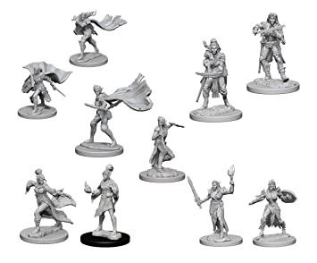 Pathfinder Battles Deep Cuts Miniatures Bundle: Elf Male Sorcerer
