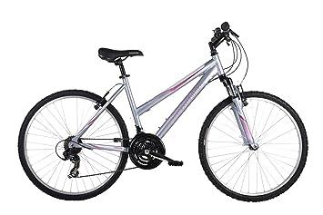 """Barracuda mystique mountain bicicleta (rueda 26 pulgadas,frame 18"""") plata para mujer"""