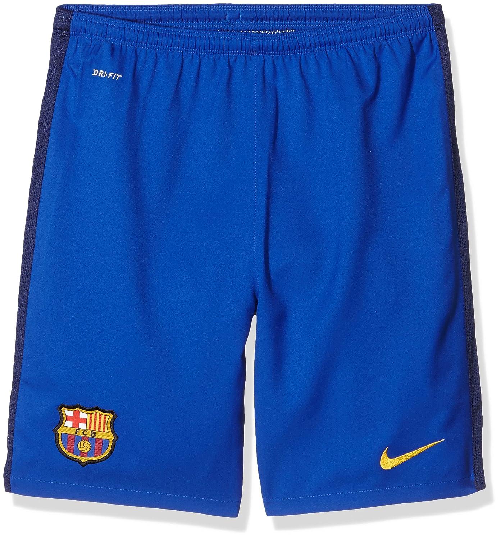 Nike FCB Ha Gk Stadium Short - Pantalón Corto Fútbol Club Barcelona 2015/2016 para niño
