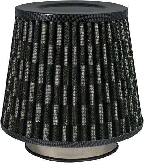 60,70,76,84 et 90 mm Carbon JOM 40326 Filtres /à Air Power- Filter Universel