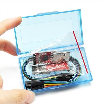Pack of 2 Sets EK1110x2 Gikfun New CP2102 USB 2.0 to UART TTL 5Pin Module Serial Converter for Arduino DIY Kit