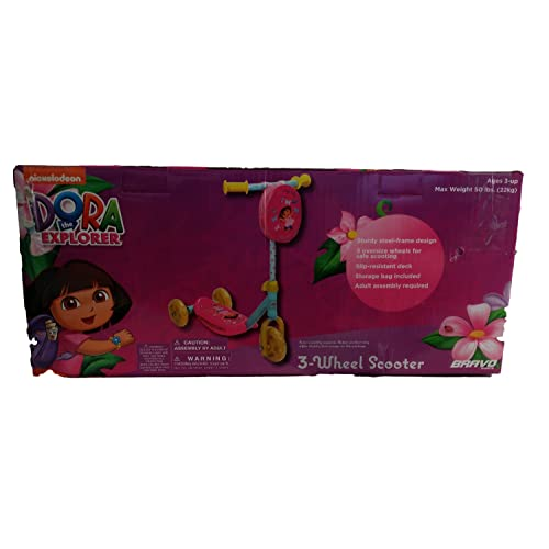 Nickelodeon Dora the Explorer 3 Wheel Scooter