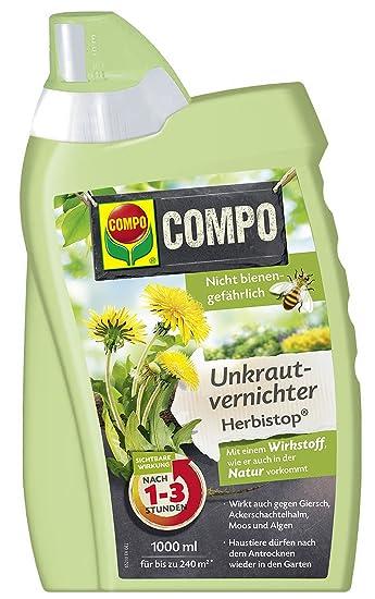 Compo Unkrautvernichter Herbistop Gegen Unkrauter Algen Und Moose