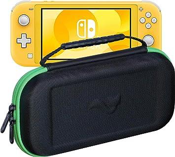 ButterFox - Funda de Transporte compacta para Nintendo Switch Lite con 19 Juegos y 2 Soportes para Tarjetas Micro SD, Almacenamiento para Accesorios Switch Lite: Amazon.es: Electrónica