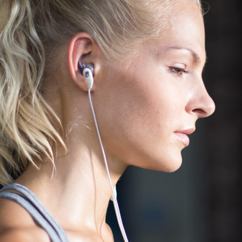 Skullcandy XTplyo In-Ear Sport Kopfh/örer Ohrh/örer mit Universal Fernbedienung//Mikrofon Schwei/ßbest/ändig Swirl//Coolgray//Charcoal