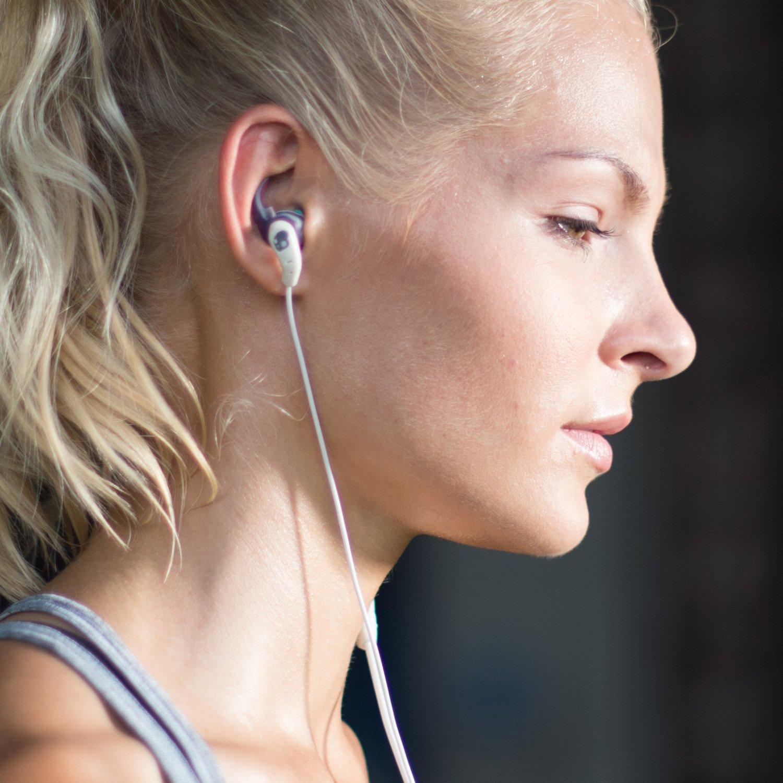 Skullcandy XTplyo In-Ear Sport Kopfh/örer Ohrh/örer mit Universal Fernbedienung//Mikrofon Schwei/ßbest/ändig T/ürkis//Gr/ün