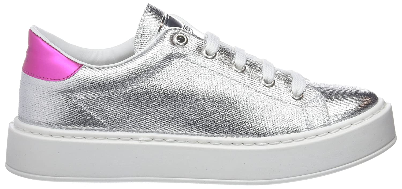 D. (Silver) Franklin Damen Gumme Metal Sneakers Silber (Silver) D. ce5ad1