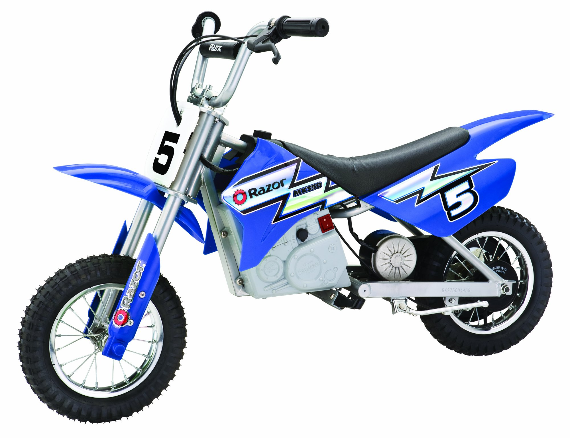 Razor MX350 Dirt Electric Bike, Blue