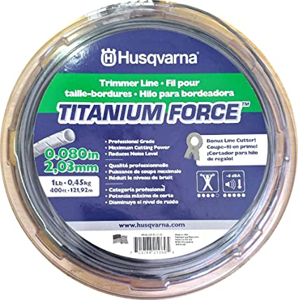 Amazon.com: Husqvarna 639 00 51 – 13 titaniumforce Trimmer ...