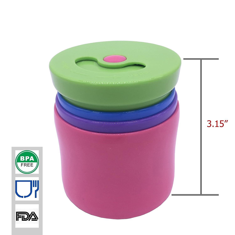 Plegable botella de agua, BPA libre 100% bebé chupete ...
