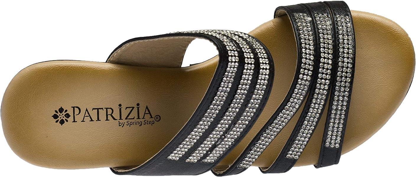 7be0e84fbfb PATRIZIA Women s Halogen Slide Sandal Black. Back. Double-tap to zoom