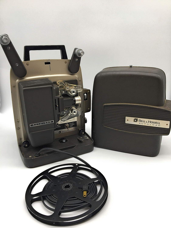 Tondo CT80 8mm projector Original box and manual Lot of films included Polistil