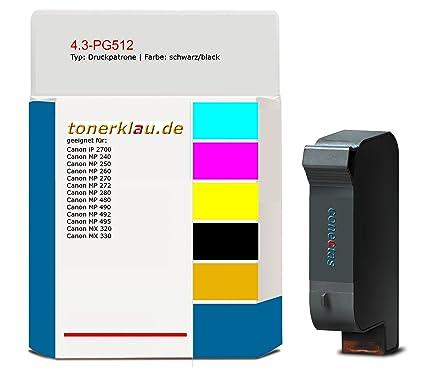 compatible Cartucho de impresión/de 4.3 de tinta PG512 para ...
