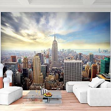 Moderne wohnzimmer wandbilder  Fototapete New York Vlies Wand Tapete Wohnzimmer Schlafzimmer Büro ...