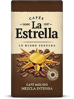 La Estrella - Café Molido Descafeinado Mezcla - Pack de 4 x ...