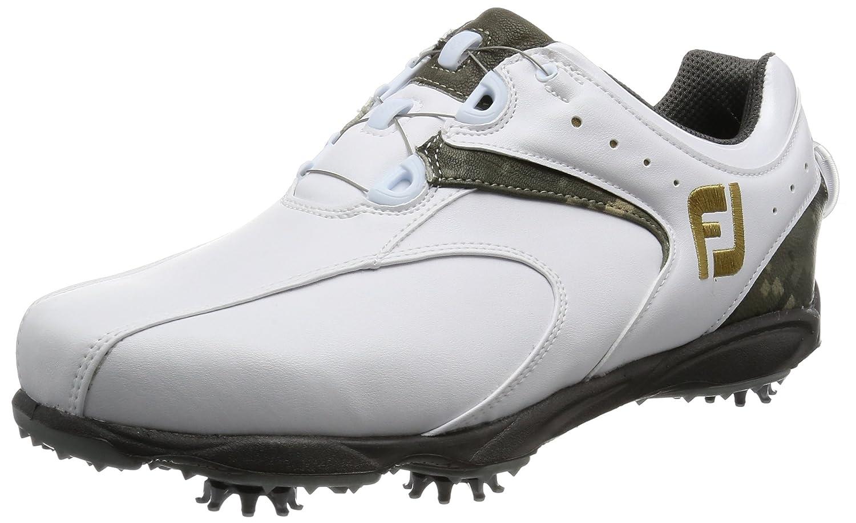 [フットジョイ]  ゴルフシューズ  EXL Boa 45168J B01LYJ5GZY 25.0 cm Wide ホワイト/カモフラージュ