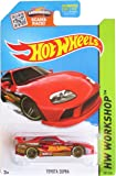 Hot Wheels, 2015 Hw Workshop, Toyota Supra [Red] Die Cast Vehicle #201/250