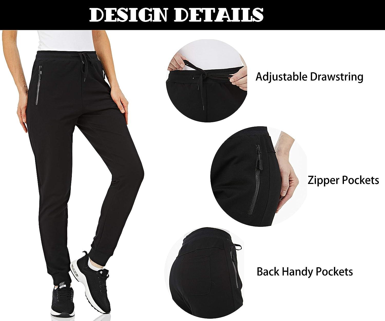 Tacvasen Pantaloni Jogging Cotone Tuta Confortevole Jogger Per Donna