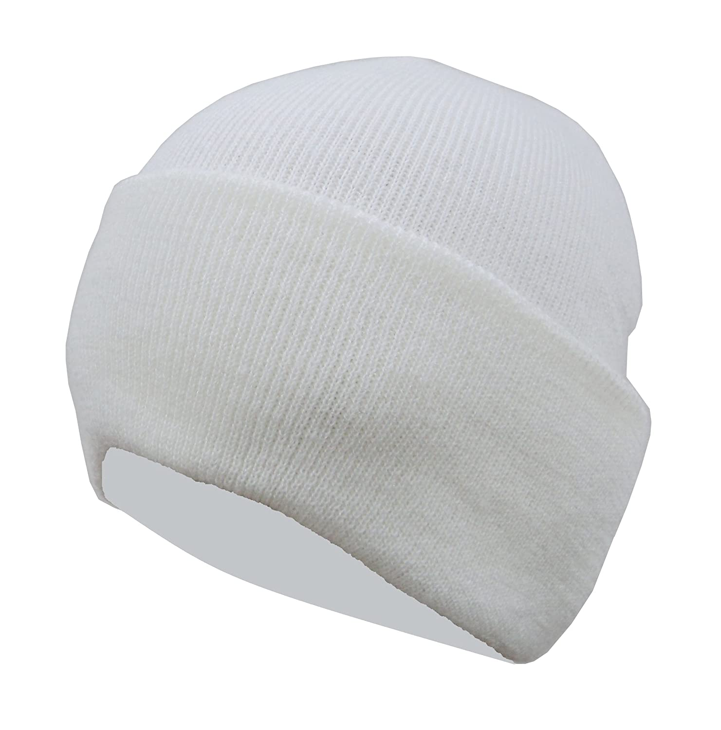 c0f8c1fcd64 Gajraj Men s Woolen Skull Cap (White)  Amazon.in  Clothing   Accessories