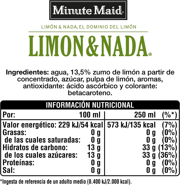 Minute Maid Limón & Nada 6 Botellas x 1 L: Amazon.es ...
