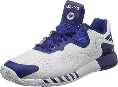 adidas Adizero Y3 2016 Zapatillas de tenis, Hombre, Azul / Blanco (Tinher / Ftwbla / Ftwbla), 40 2/3 EU: Amazon.es: Zapatos y complementos