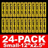 POSTED 24 Pack NO TRESPASSING Signs NO HUNTING