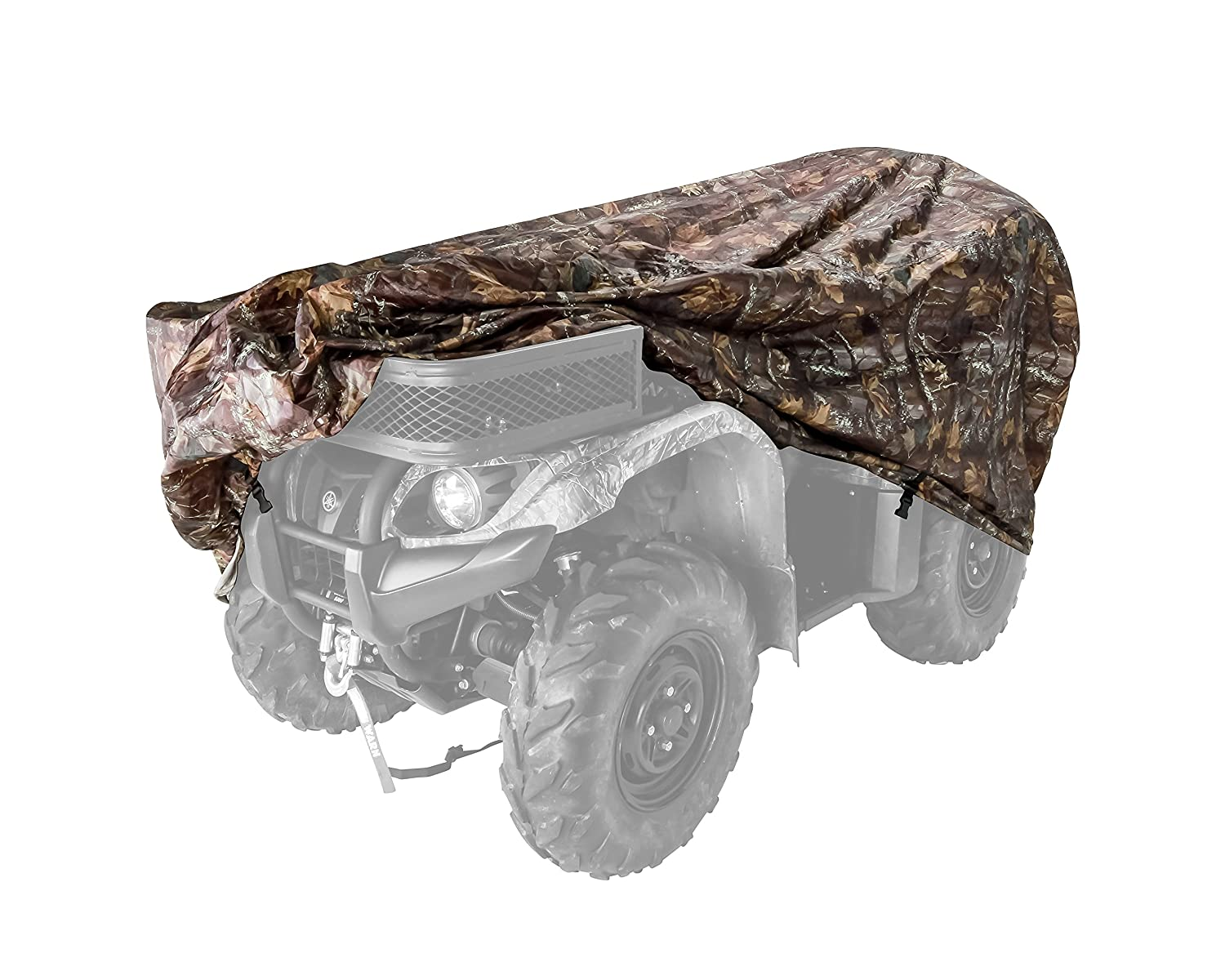 Black Boar Extra Large (450cc and Up) Protect Your ATV from Rain, Snow, Dirt, Damaging UV Rays While in Storage (Jungle Camo) (66021) Camco