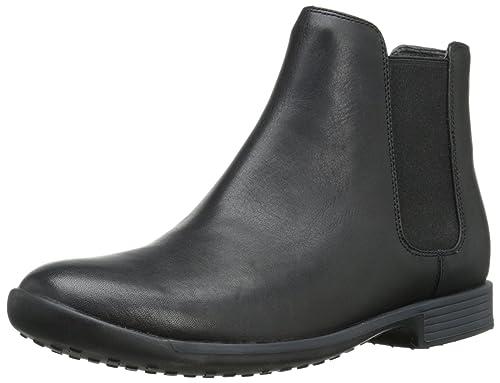 c6904cdb66503 Camper Bowie - Botas de cuero para hombre negro negro 39  Amazon.es  Zapatos  y complementos