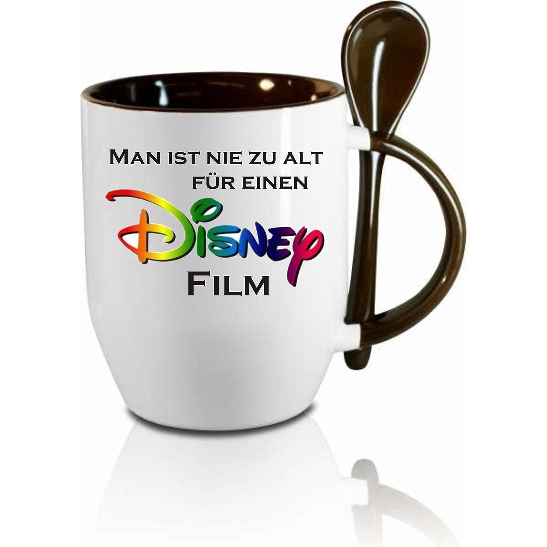 Tasse M Löffel Man Ist Nie Zu Alt Für Einen Disney Film