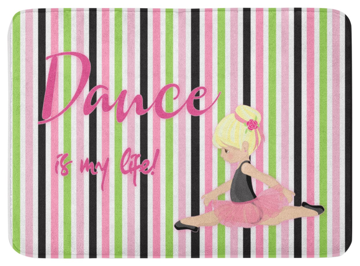 Caroline's Treasures Ballet Dance is my Life Blonde Floor Mat, 19 H x 27 W'', Multicolor