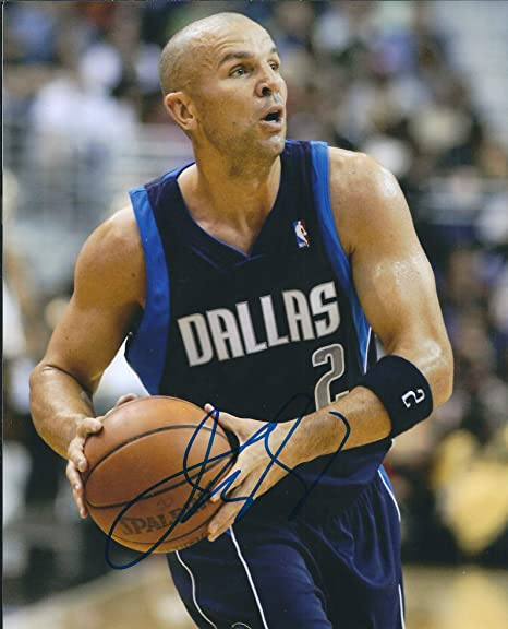 2105187995af Autographed Jason Kidd 8x10 Dallas Mavericks Photo at Amazon s ...