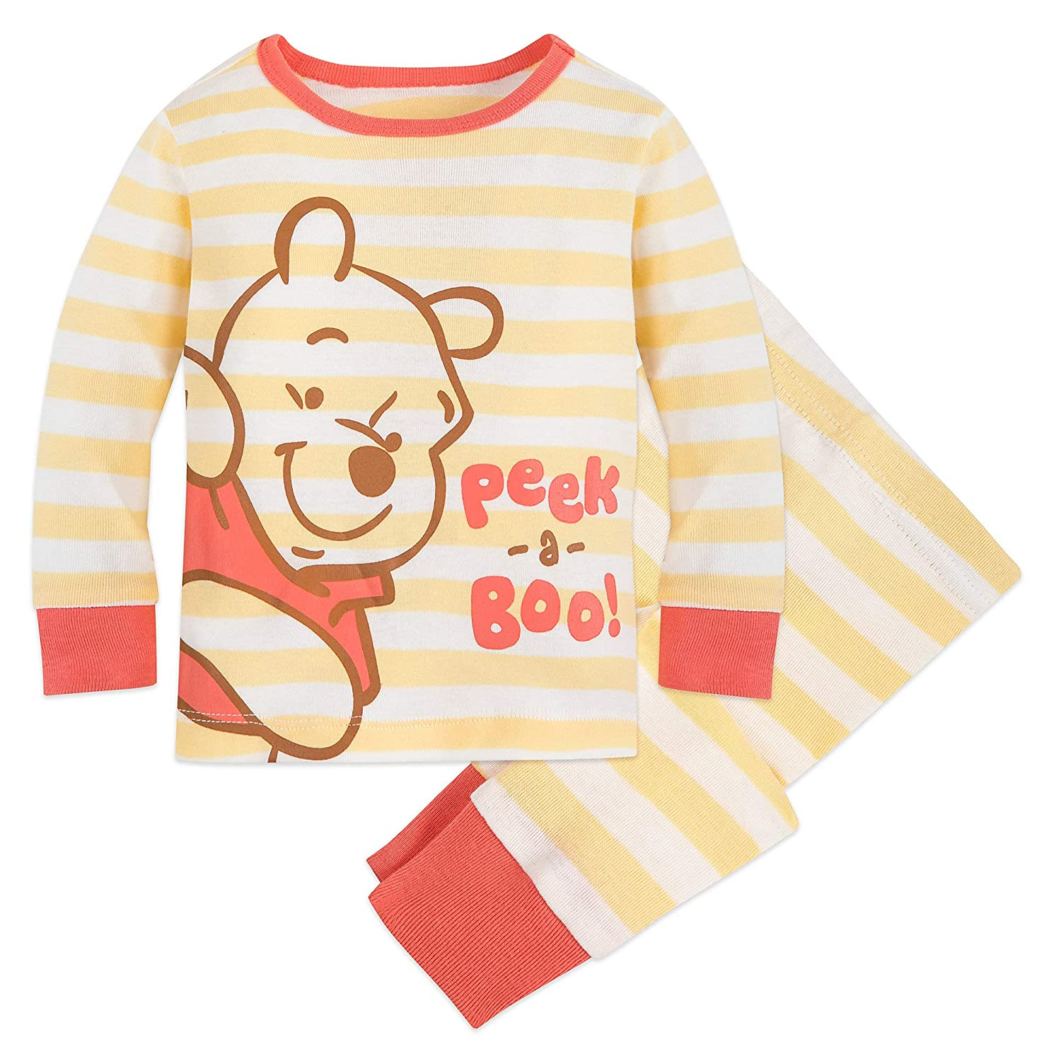Baby Boys Mickey Mouse Winne the Pooh Tigger Long Sleeve TShirt Tee Top Stripe