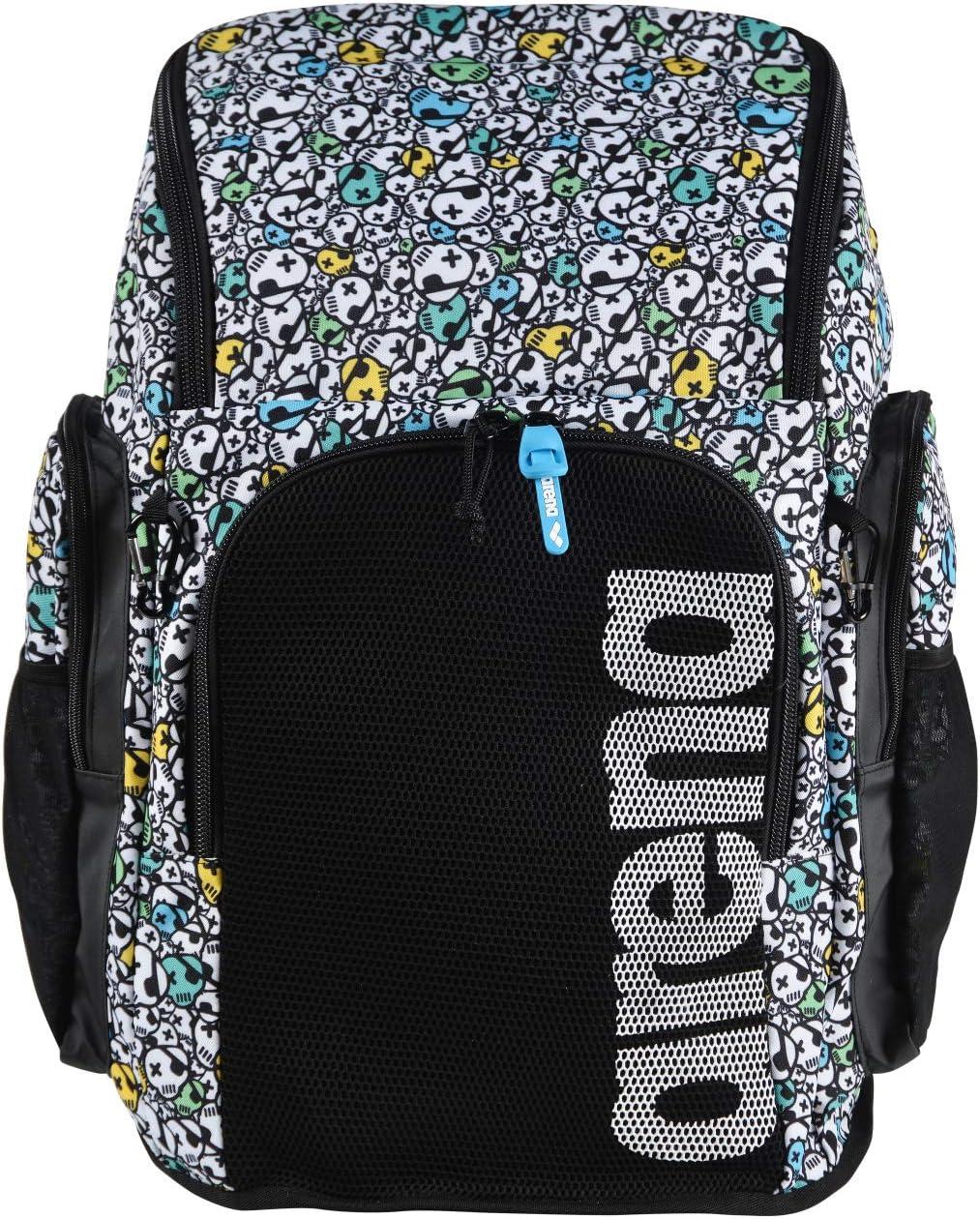 ARENA Team 45 Backpack Allover Mochila de Natación, Unisex Adulto