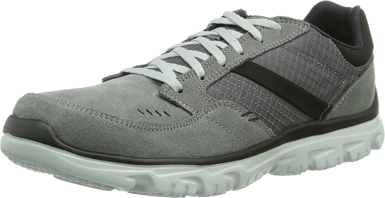 Skechers L-Fit Comfort Life - Zapatillas para Hombre, Color Gris ...