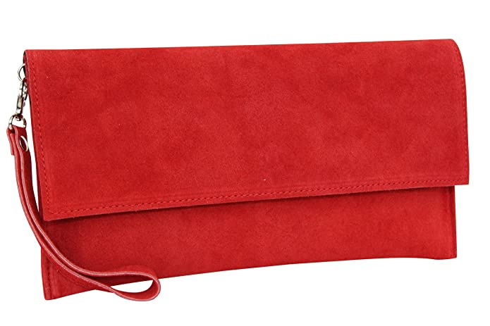 AMBRA Cartera tipo glutch con correa, dos formas de usos.