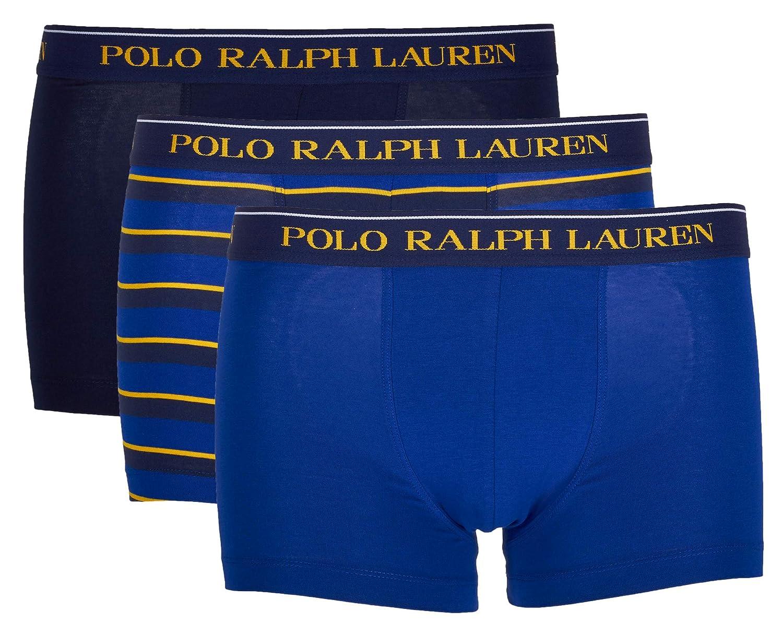 Polo Ralph Lauren Hombre Calzoncillos Paquete de 3 - Algodón, Azul ...