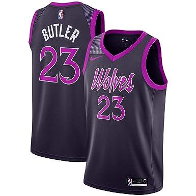 cc9c1b8cc00 Nike Jimmy Butler Minnesota Timberwolves City Edition Swingman Jersey -  Purple (Small)