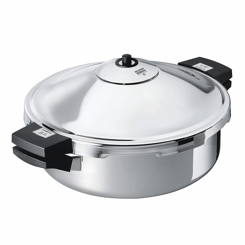 Kuhn Rikon Duromatic Family Style Pressure Cooker Braiser (5.3 Quart)